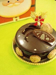 ベルギーチョコレートのムースショコラクリスマス