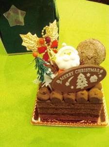 ベルギーショコラのチョコケーキ
