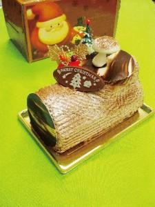 ベルギーチョコレートのクリスマスケーキ