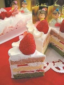 ひな祭りケーキweb用